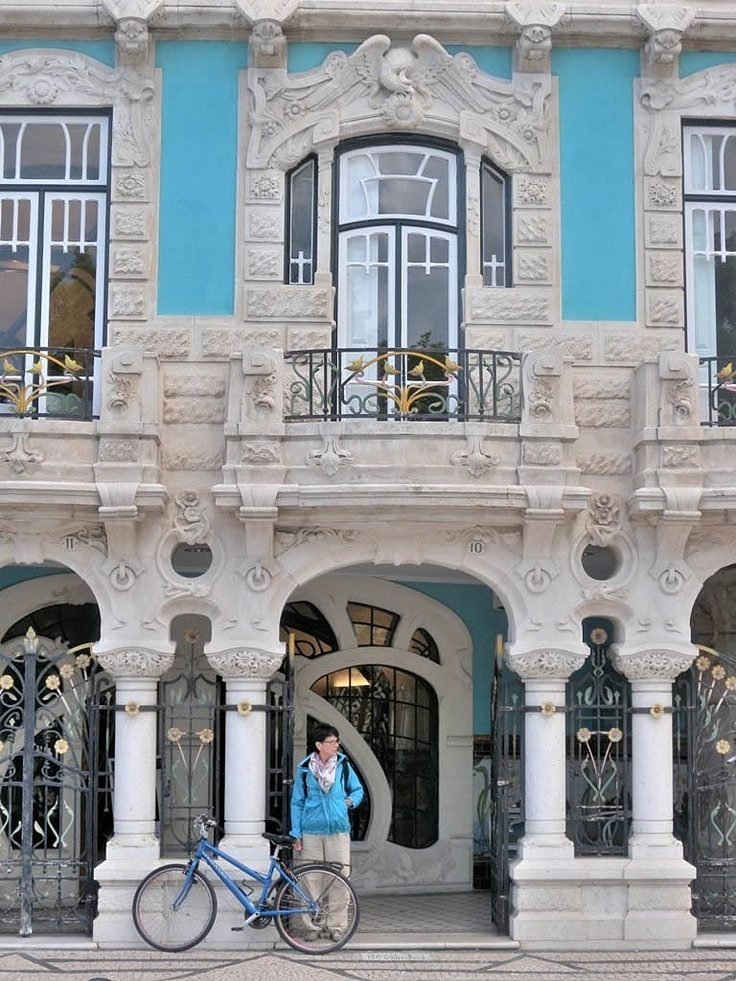The Museum of Art Nouveau in Aveiro is the coolest new stop on the Portugal cultural scene. The museum resides in the Casa Major Pessoa - Portugal