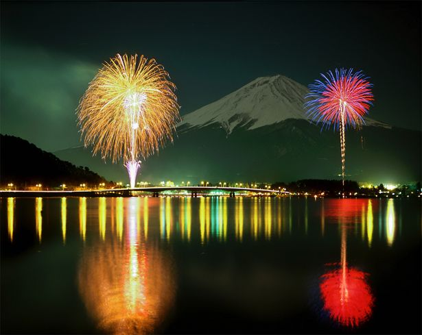 [Mt,Fuji from Lake Kawaguchiko] Yamanashi, Japan