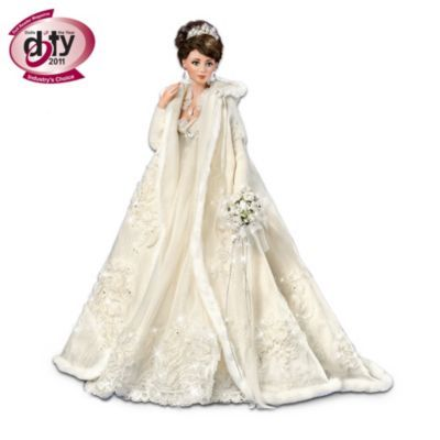 "DOTY Award-Winning ""Touch Of Elegance"" Porcelain Bride Doll"