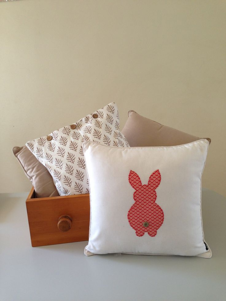 Rabbit cushion. Check out my market stall, Alice Springs Todd mall