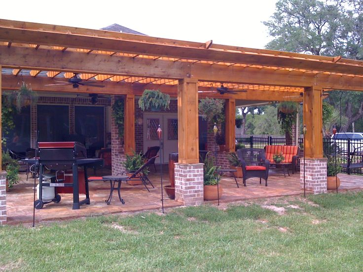 60 best images about unique pergola ideas on pinterest for Outdoor kitchen pergola ideas