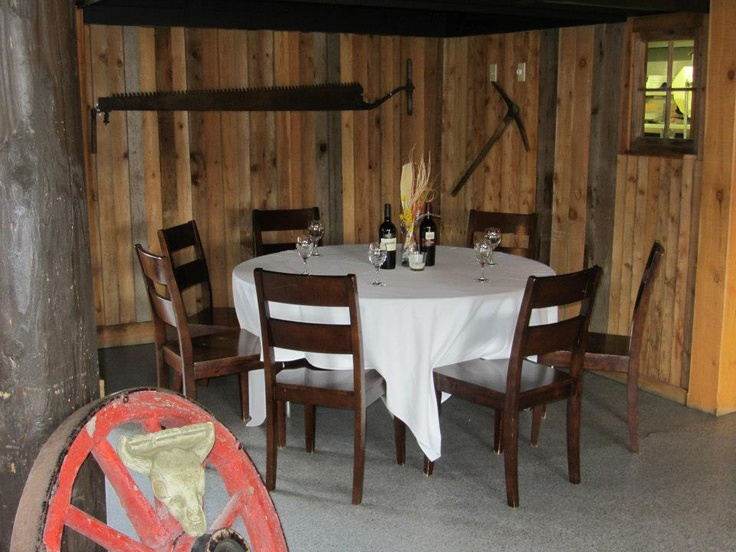 Nice cozy table at Cattlemen's Club   Visit us at 9380 Highway 97 North, Vernon BC or call us at (250) 542 - 2178.