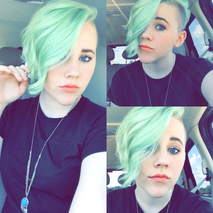 Ion Color Brilliance Brights In Mint Undercut Top Knot