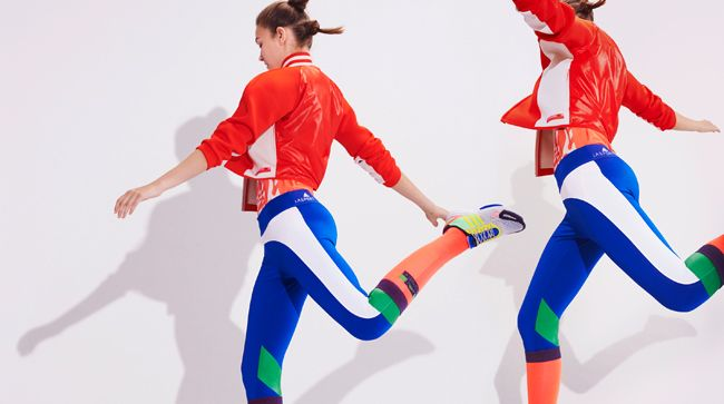 adidas (アディダス) と Stella McCartney (ステラ マッカートニー) とのコラボレーションライン「adidas by Stella McCartney」が10周年を迎える2015年、新しいコ...