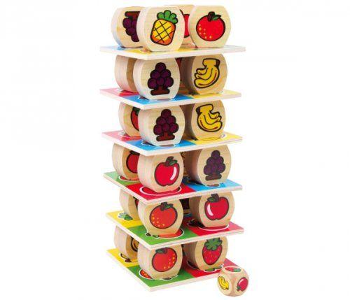 Ο πύργος των φρούτων/ Fruit balancing game