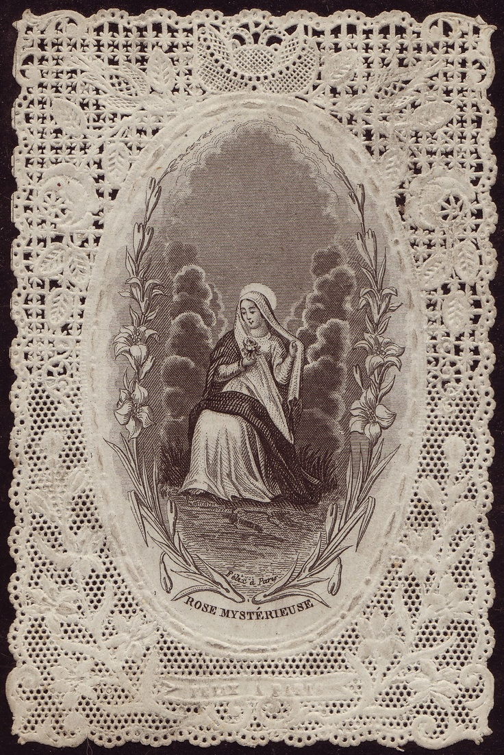 """""""Whatsoever things are lovely, whatsoever things are of good report; if there be any virtue, and if there be any praise, think on these things""""  [Philipians 4:8]. Holy Card Heaven. A blog showcasing a collection of vintage holy cards."""