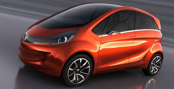 The company Tata Motors unveiled at the Geneva Motor Show model Megapixel for 2014th. This will be a new four-seat as urban electric car.   Megapixel has been developed by design centers in India, the UK and Italy. The model is characterized by a