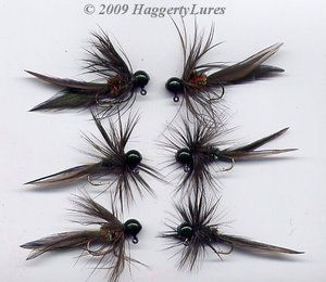 13 best images about fly tying on pinterest december for Ice fishing lures for panfish