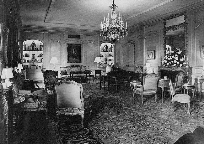 Grand Salon - John D. Rockefeller, Jr. Apartment, 740 Park Avenue, Rosario Candela.