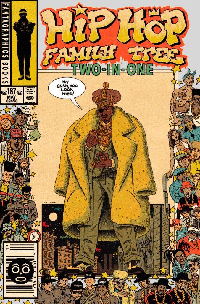 Hip Hop Family Tree The Comic Of The Hip Hop Hip Hop Poster Hip Hop Artwork Hip Hop Illustration