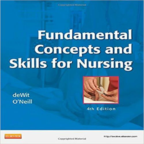 The 73 best test bank images on pinterest manual textbook and test bank fundamental concepts and skills for nursing 4th edition by dewit pdf fundamental concepts fandeluxe Images