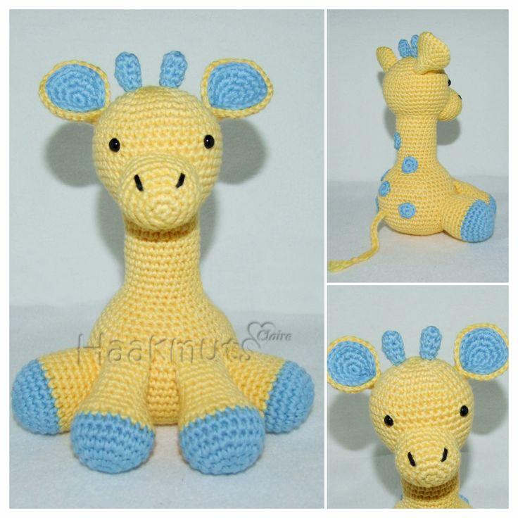 Gratis patroon giraf