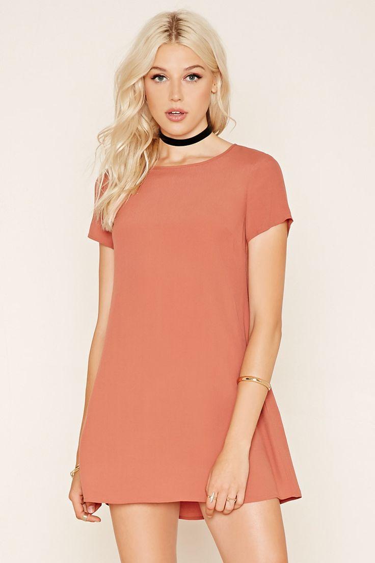 Woven T-Shirt Dress