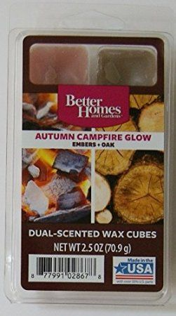excellent better homes and gardens scented wax cubes. 1 X Better Homes and Gardens Autumn Campfire Glow Dual Scent Wax Cubes  Check out this great article 74 best Candles Melts etc images on Pinterest melts