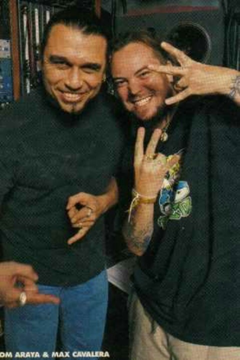 Tom Araya & Max Cavalera! \m/