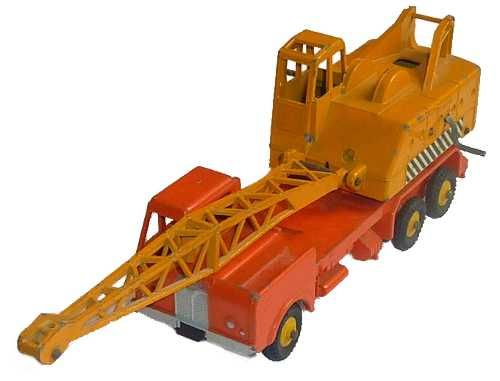 #diecast #Dinky 972 20 Ton Lorry Mounted Crane Coles new or updated at www.diecastplus.info