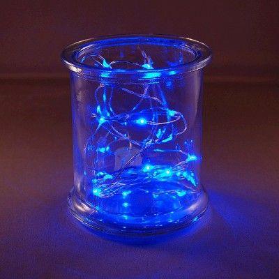 3ct Blue Rope Lights, String Lights,battery powered string lights