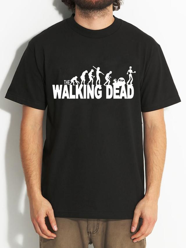 100% Cotton Letter Printed T-shirts Men Walking Dead Loose Casual Men T Shirts Short Sleeve Summer 2016 Brand Tshirt //Price: $10.60 & FREE Shipping //     #twd