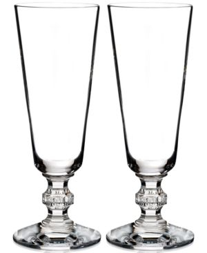 Waterford Town & Country Collection 2-Pc. Ashton Lane Flutes