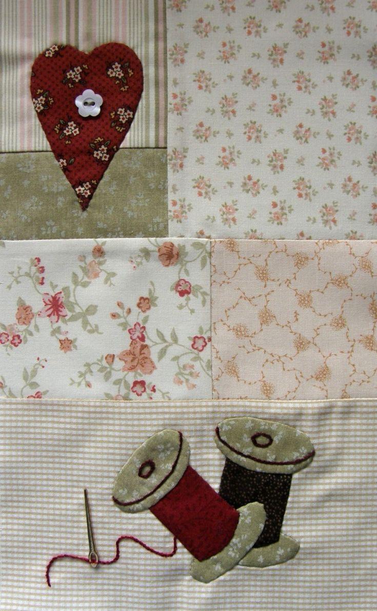 Květen: Andrea patchwork