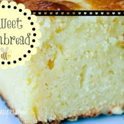 Moist Sweet Cornbread Recipe. This is the best cornbread I have ever had!