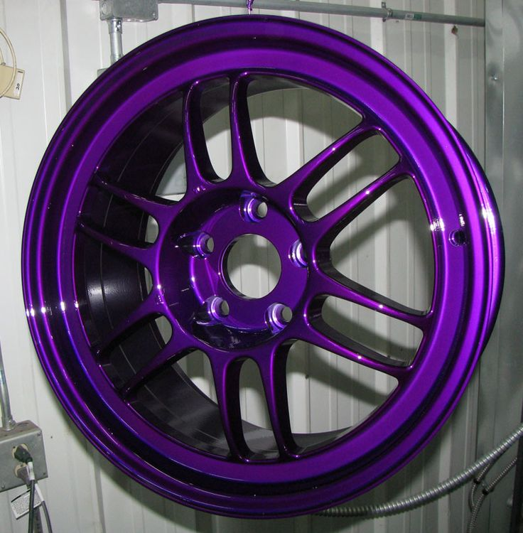 Dormant Purple with High Gloss Powder Coat - http://www.powderkegcoatings.com