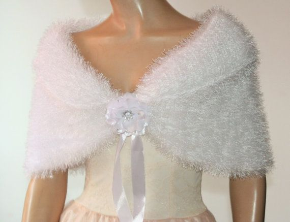 White Wedding Shawl Bridal Shawl Bridal Wedding Stole White