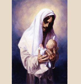 Blessed are the children....Artist: Chris Hopkins: Jesus Loves Me, Children Artist, Baby Jesus, Jesus Christ