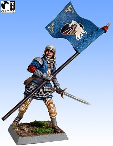 Mindstalkers: soldiers generic for factions of Milan and Venice.  Standard Bearer 01