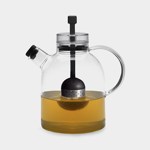 Glass Teapot with Infuser: Teas Infused, Fashion Beautiful, Moma Teapots, Tetera De, Moma Stores, Teas Pots, Kitchens Glasses Teapots, Design Stores, Teapots Infused