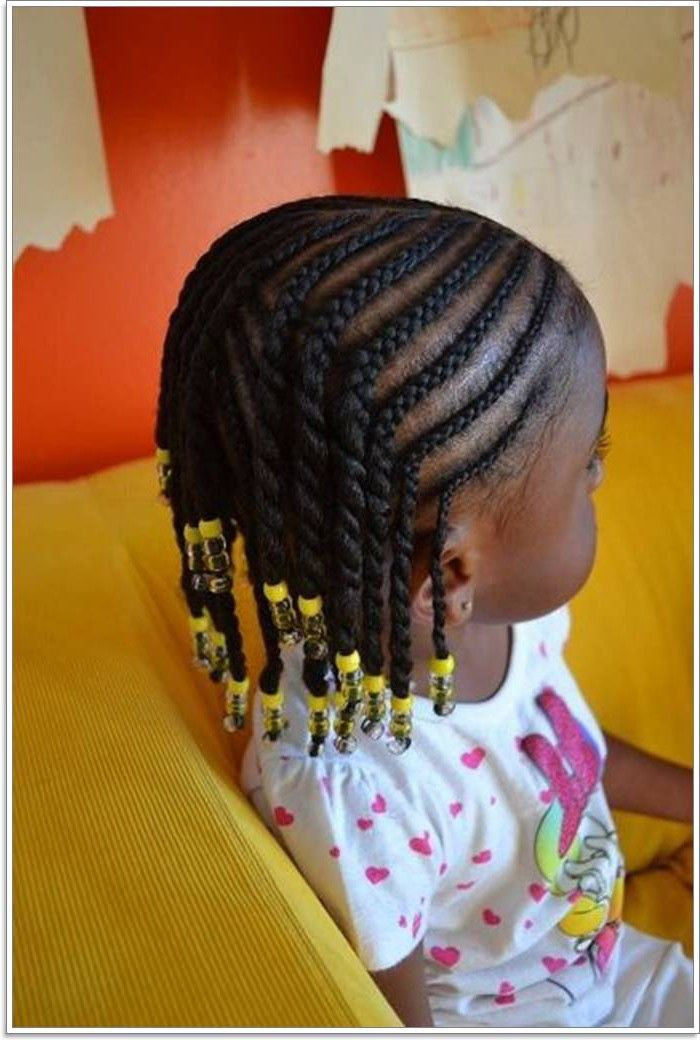 103 Adorable Braid Hairstyles For Kids Braided Hairstyles Kids Braided Hairstyles Kids Hairstyles Black Kids Hairstyles