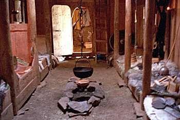 viking long house - Google Search
