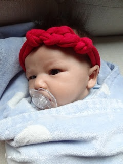 crafting: no sew celtic knot headband