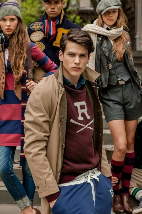 ralph lauren rugby #preppy #maniacstyle
