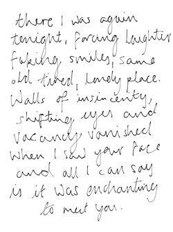 Taylor Swift - Enchanted lyrics