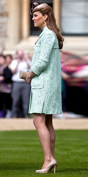 21.04.2013 Catherine, The Duchess of Cambridge, Kate Middleton, seen during a national celebration at Windsor Castle, Berkshire, for scouts who have achieved their Queen's Scout Awards April 21st, 2013.