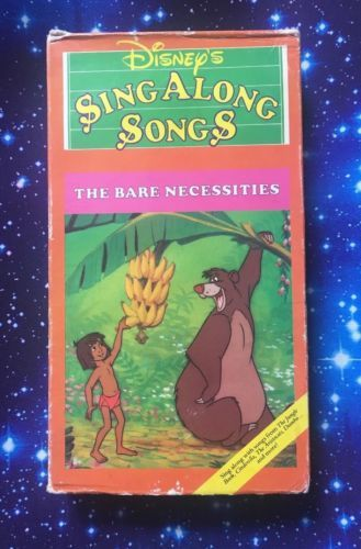 a21513346 Details about Disney s Sing Along Songs - The Bare Necessities (VHS ...