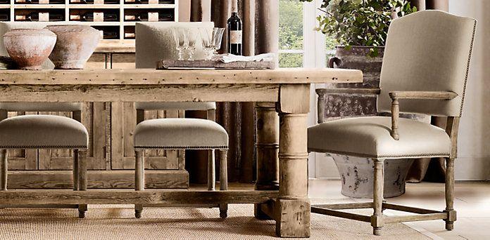 84 best restoration hardware livingroom images on for Restoration hardware living room furniture