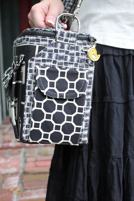 camera bag and camera strap pattern - book comes out in the fall