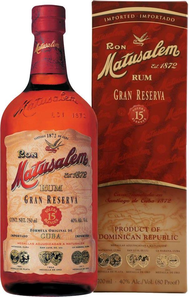 Matusalem 15 Year Old Gran Reserva Rum | @Caskers