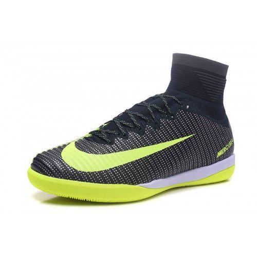 Comprar Botas De fútbol Baratas 2017 Nike Mercurial Superfly V TF Negro  Amarillo Zapatos De Soccer Online. Botas De futbol Nike Mercurial Baratas  en venta