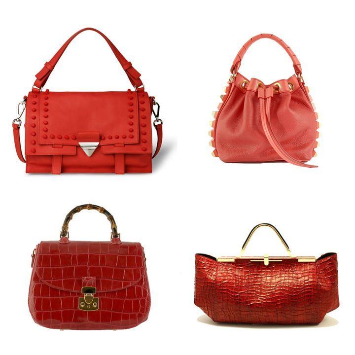 If you love red these are the bags we have chosen for the s/s collection: Eva by Orciani, Tala by Salar, Bamboo by Buti and Amleto by Zanchetti. Your favourite? You can find them on STYLENOVO
