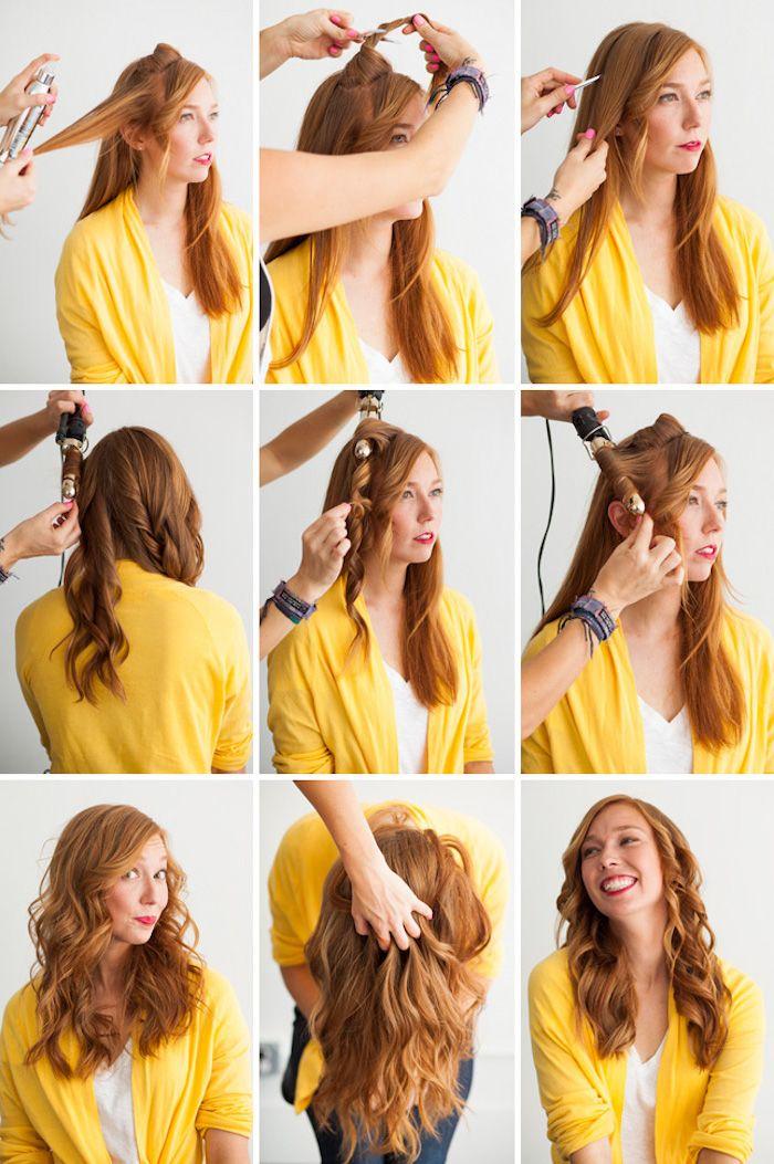 1001 Ideen Fur Locken Mit Lockenstab Frisuren Zu Besonderen Anlassen Frisur Lange Haare Locken Lassige Frisuren Sommerfrisuren