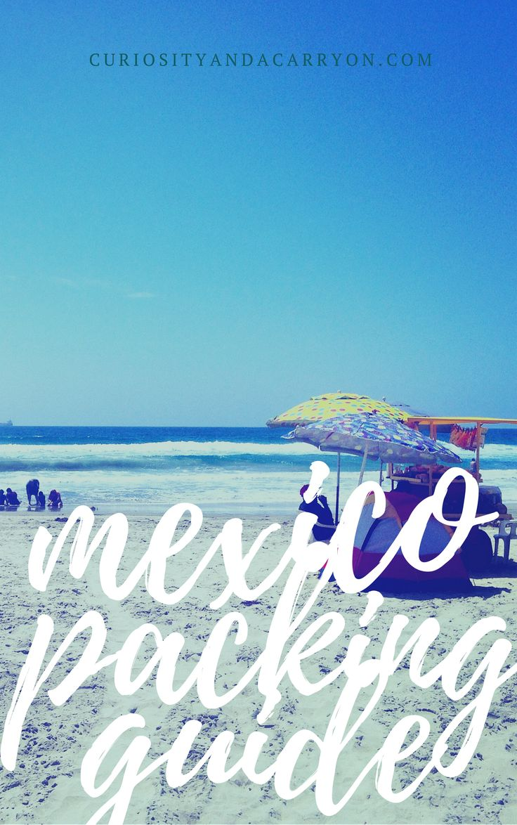 In My Carry On Mexico | Carry On Packing Guide Mexico | Packing List for Mexico