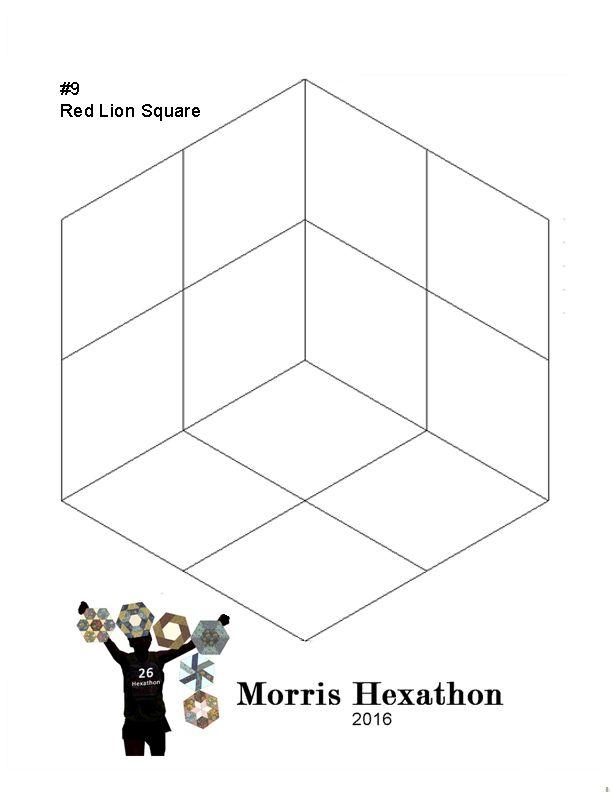 Barbara Brackman's MATERIAL CULTURE: Morris Hexathon 9: Red Lion Square