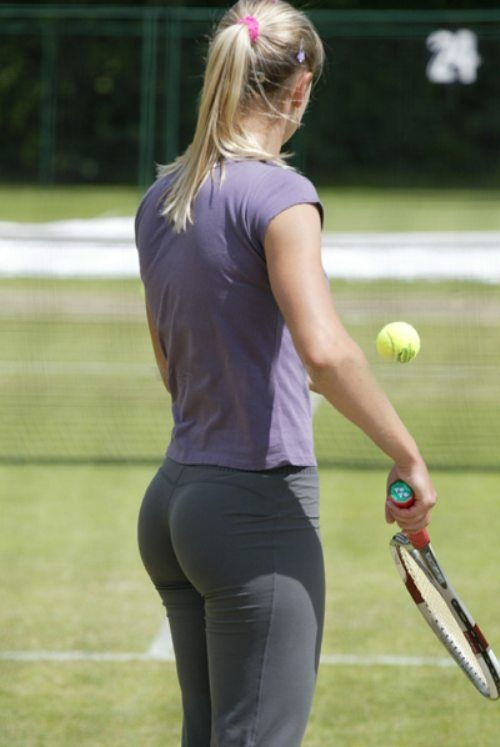 Hot girl tennis players butts photo 698