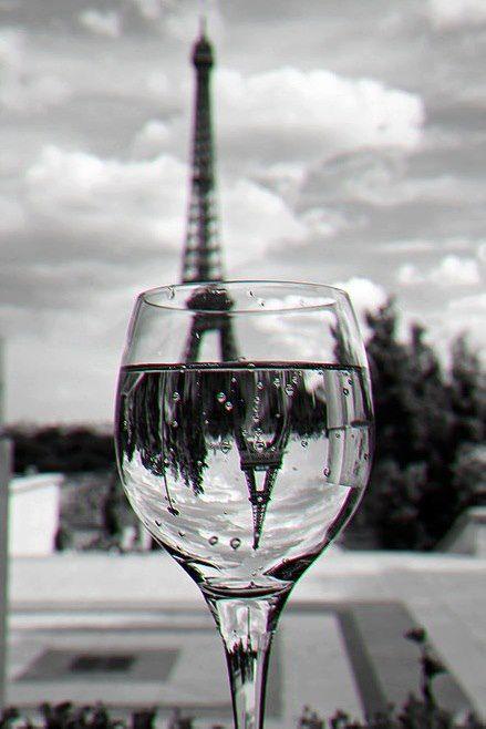 ...Paris in glass of wine...