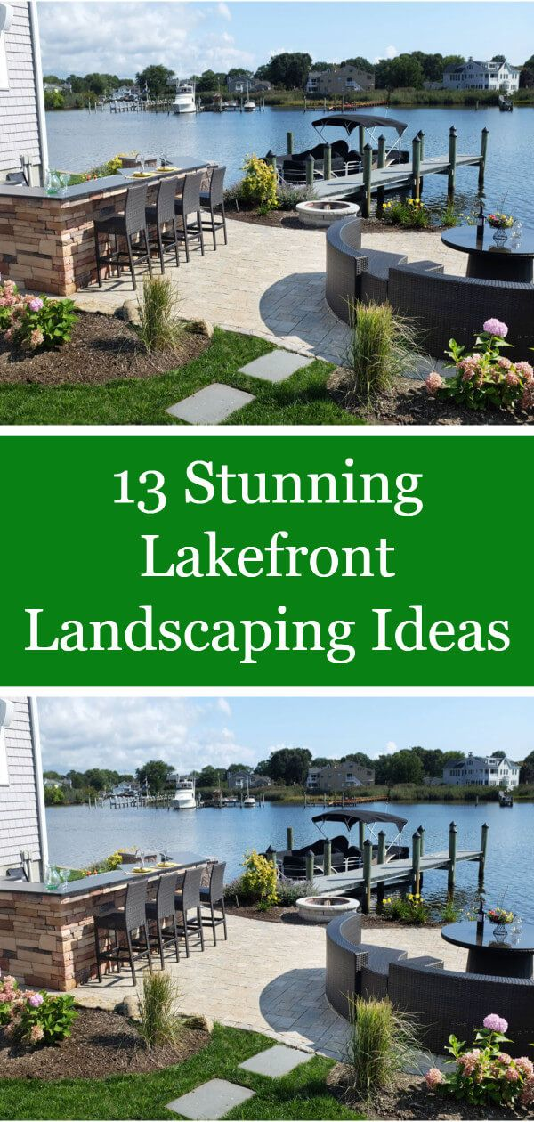 13 Stunning Lakefront Landscaping Ideas Small Backyard