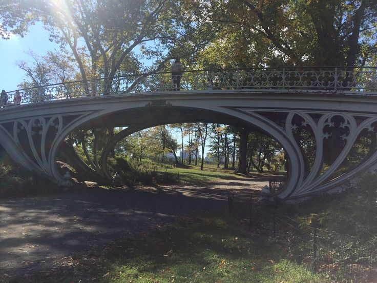 Gothic Bridge Central Park New York © Sarah Murphy