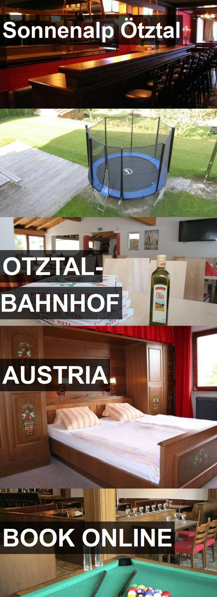 Hotel Sonnenalp Ötztal in Otztal-Bahnhof, Austria. For more information, photos, reviews and best prices please follow the link. #Austria #Otztal-Bahnhof #travel #vacation #hotel